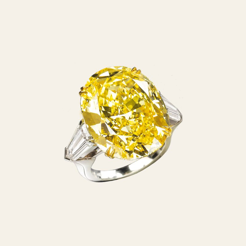 ANELLO DIAMANTI FANCY COLOUR