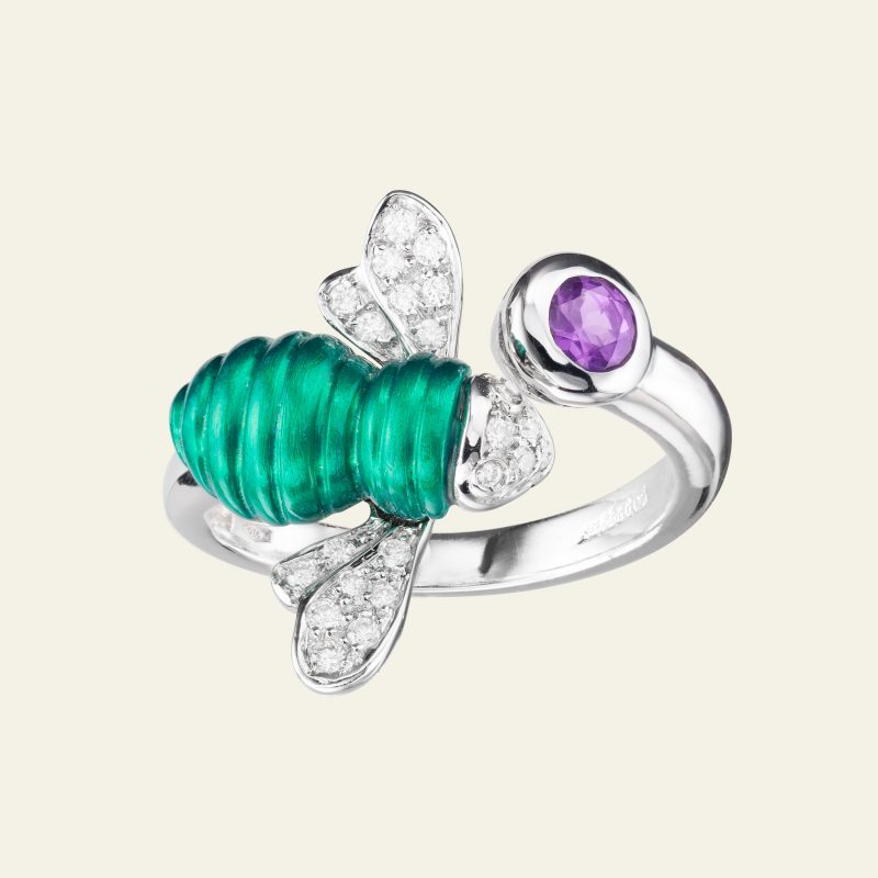 SABBADINI BABY BEE RING