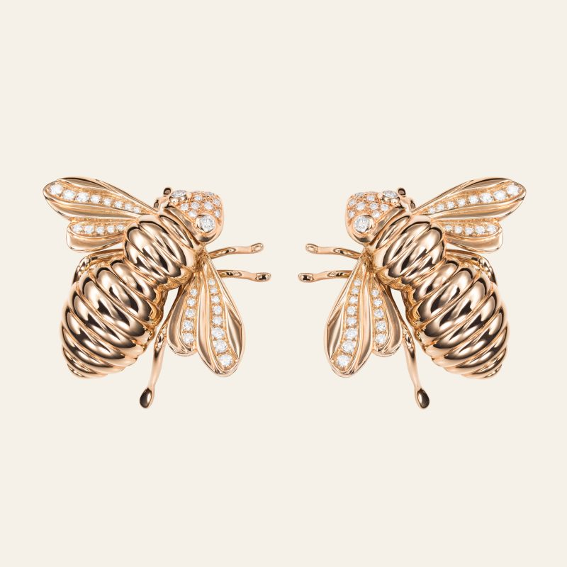 SABBADINI BEE EARRINGS